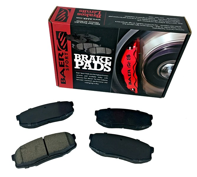 Baer Sport Pads, Rear, Fits Various Toyota Applications