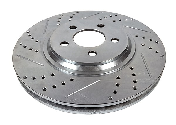 Baer Sport Rotors, Front, Fits 94-04 Ford Mustang Cobra