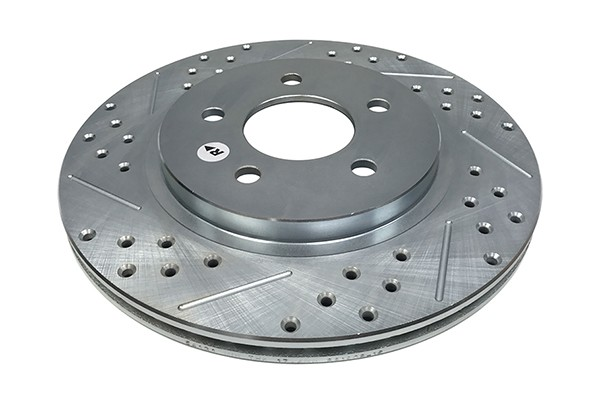 Baer Sport Rotors, Rear, Fits Ford Mustang
