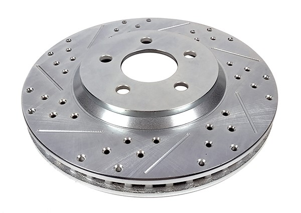 Baer Sport Rotors, Front, Fits 05-14 Ford Mustang