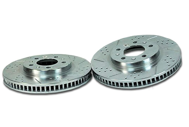 Baer Sport Rotors, Front, Fits 03-07 Cadillac CTS w/standard suspension