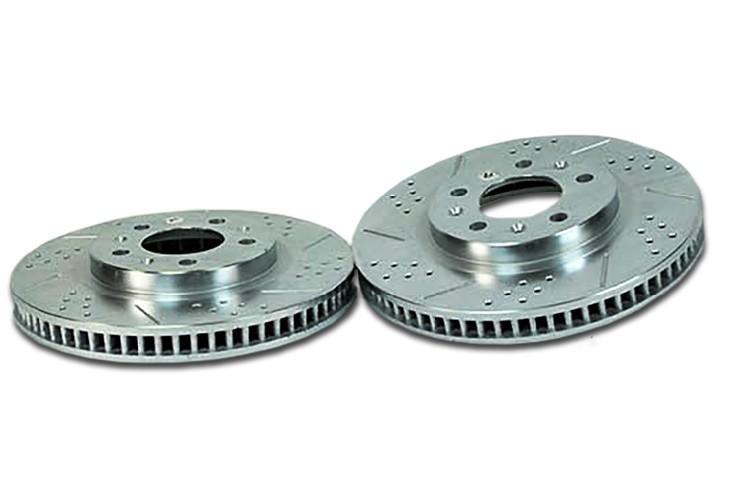 Baer Sport Rotors, Rear, Fits 00-05 Cadillac DeVille w/HD brakes