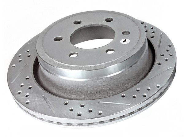 Baer Sport Rotors, Rear, Fits Ford F150