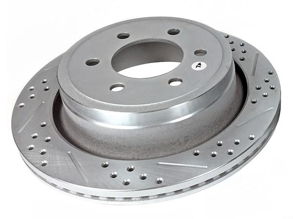 Baer Sport Rotors, Rear, Fits Ford F150