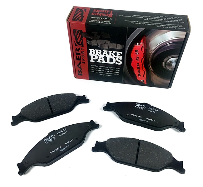 Baer Sport Pads, Front, Fits Various Ford Mustang Applications