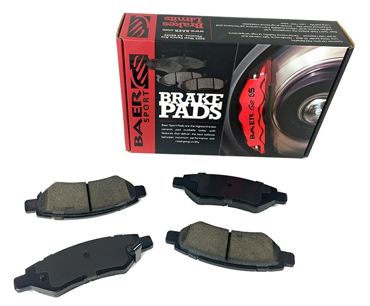 Baer Sport Pads, Rear, Fits Various Cadillac and Chevrolet Applications