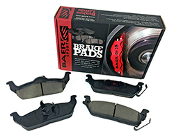 Baer Sport Pads, Rear, Fits Various Ford and Lincoln Applications