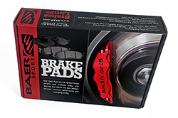 Baer Sport Pads, Rear, Fits Various Dodge and Mitsubishi Applications