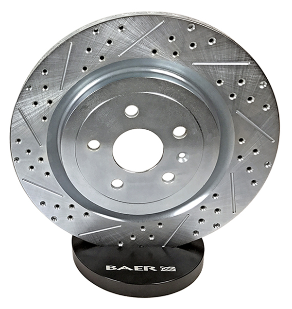 Baer Sport Rotors, Rear, Fits 93-98 Jeep Grand Cherokee